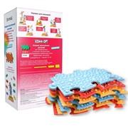 Коврик массажный для профилактики и лечения плоскостопия в подарочной упаковке К-811 фото