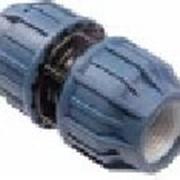 Концевой фитинг для прямого соединения концов труб из ПЭ - PPC75x75 фото