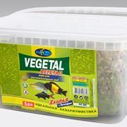 Корм для растительноядных рыб в виде хлопьев - Вегетал фото