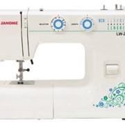 Машины бытовые швейные Швейная машина JANOME LW-20 (15 строчек, регуляторы длины стежка и ширины зигзага) фото