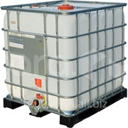 Еврокуб 1000 литров на пластиковом поддоне Арт.МX 1000пп фото