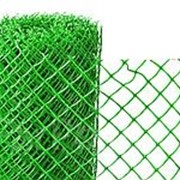 Сетка садовая ячейка ромб 15*15мм, рулон 2,0*10м, зеленая фото