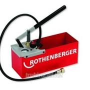 Опрессовщик ручной TP25 до 25 бар для систем водоснабжения и отопления 4.5 л Rothenberge фото