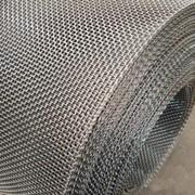 Сетка тканая оцинкованная 8x8x1 ГОСТ 3826-82, сталь 3сп5, 10, 20 фото