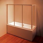 Шторки для ванной комнаты Ravak AVDP3-150 белый Transparent фото