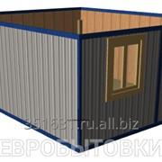 """Модульное здание """"Прорабская"""" из 2-х блок-контейнеров, 30 м² фото"""