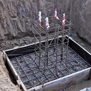 Фундаменты и прочие бетонные работы фото