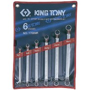 Набор накидных ключей, 6-17 мм, 6 предметов KING TONY 1706MR фото