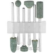 Набор Stayer : Насадки шлифовальные абразивные с оправкой, карбид кремния, 6шт Код:29921-H6 фото