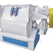 Смеситель горизонтальный скребково-лезвийный периодического действия марки ЗСЛ-1000 фото