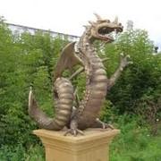 Скульптуры из природных материалов фото