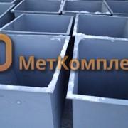Контейнеры для ТБО 0,75 м3. фото