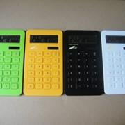 Калькуляторы, Калькуляторы настольные, Калькуляторы из ЭКО пластика. фото