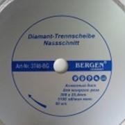 Диск алмазный Bergen мокрый рез 300х25,4мм фото