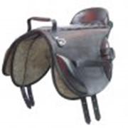 Седло специальное для лечебной верховой езды со спинкой фото
