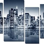 Картина модульная Нью Йорк фото