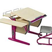 Набор парта со стулом СУТ 14-02+СУТ 01 фото