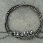 375-3907010 Трос буксирный в сборе L=5 000 мм стальной 10 тонн 45 3412 2472 Cable фото