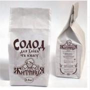 Солод сухой ржаной ферментированный молотый от производителя, ТМ Рідна Житниця фото