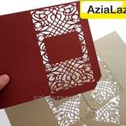 Лазерная резка дизайнерской бумаги и картона фото