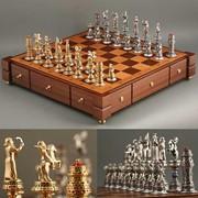 Изготовление сувенирных шахмат (нард) фото