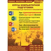 Курсы компьютерной подготовки Пушкино-Щелково фото