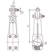 Подвеска для шины выполненной в виде трубы(ТипаПШТ) фото