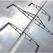 Опоры линий электропередач и связи фото