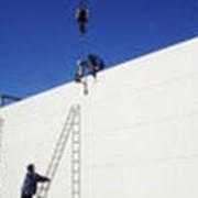 Монтаж ограждающих конструкций. фото
