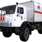 Командно-штабная машина МЧС на шасси КАМАЗ-43105 фото