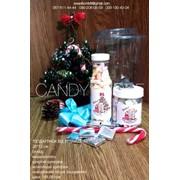 Детский подарок с конфетами на Новый Год, день Св. Николая и Рождество фото