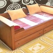 Кровать 900 с яшиками фото