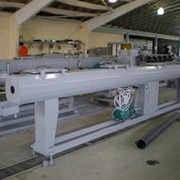 Экструзионные линии для производства труб из PVC ПВХ фото