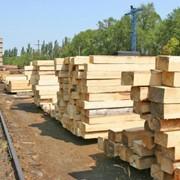 Шпалы деревянные не пропитанные фото
