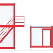 Блок-контейнеры комбинированные фото
