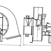 Вентилятор ВДН-9Х-1000 об/мин с ходовой частью фото