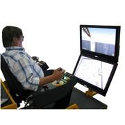 Компьютерный тренажер - Башенный кран. фото