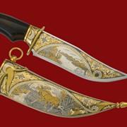 Нож Лось 354*168*44*4 фото
