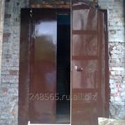 Двери металлические сварные фото