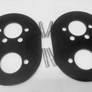 Пластины монтажные ( 2 пластины 3 мм и шпильки ) фото