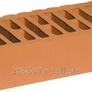 Кирпич облицовочный персик одинарный гладкий М-150 фото