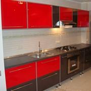 Акриловая кухня на заказ фото
