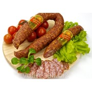 Колбаса сыровяленая Юбилейная, салями высший сорт фото