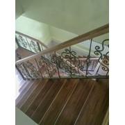 Реставрация деревянных лестниц фото