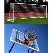 Ворота для футбола, баскетбольные кольца фото