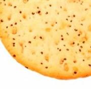 Крекер с маком фото
