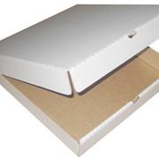 Упаковка для пиццы 400*400*40 фото
