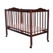 Кроватка детская (спелая вишня) фото