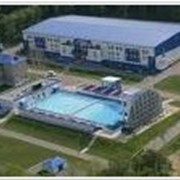 Открытый плавательный бассейн фото