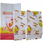 Куры-гриль 300*170*70. Упаковка бумажная для гриля фото